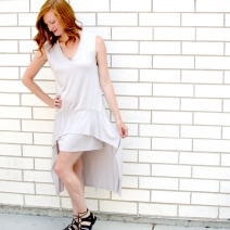 Flutter Hem Dress